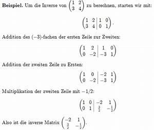 Eigenwert Matrix Berechnen : berechnen sie die inverse matrix der reellen matrix 1 2 ~ Themetempest.com Abrechnung