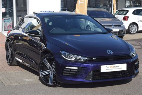 vw scirocco 2 0 tsi used 2017 volkswagen scirocco 2 0 tsi r bmt 280 ps dsg 3dr hatchback for sale in east sussex