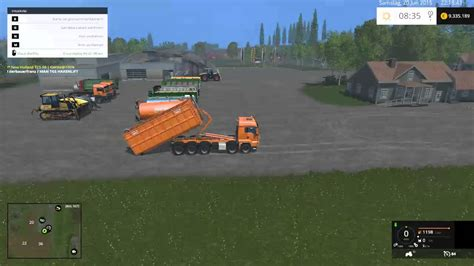 set of two touch ls ls 15 man tgs hkl set mod für landwirtschafts simulator 15