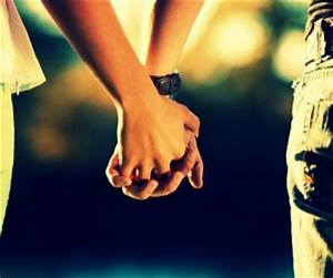 Teenager boy and girl friends holding hands | HD ...