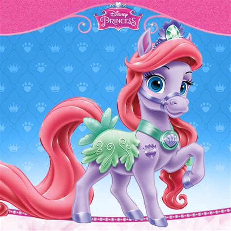 ariels pony seashell disney princess palace pets photo