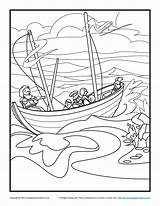 Coloring Paul Pages Bible Sunday Shipwreck Storm Shipwrecked Print Barnabas Printable Activity Crafts Jesus Apostle Journeys Children Sheets Google Silas sketch template