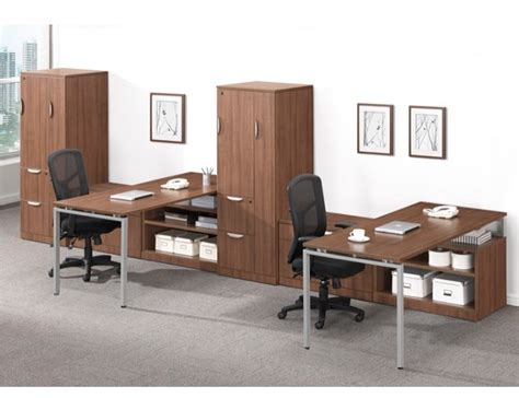 Ndi Office Furniture Elements Two Person Workstation W