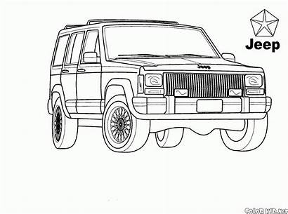 Coloring Suv Pages Colorkid