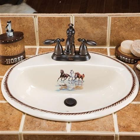western style bathroom sinks cowboy life sink my style pinterest cowboys sinks