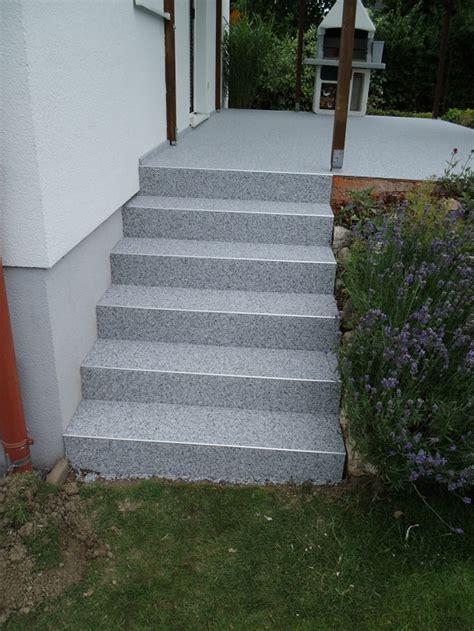Aussentreppe Sanieren Steinteppich Steinteppich Treppe Au