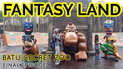 batu secret zoo fantasy land tempat wisata  batu