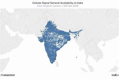 India Map Largest 4g Coverage Cities Country