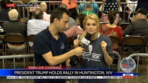trump wv huntington rally stream president