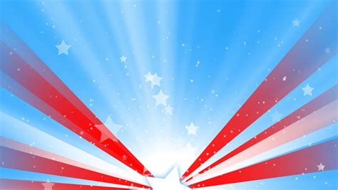 red white and blue lights animated white stars stock footage video 1902460