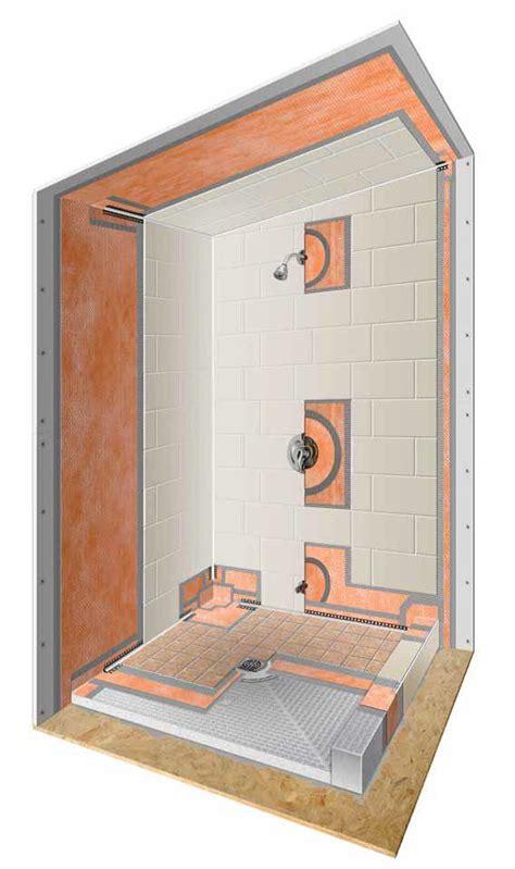 tile shower kits kerdi shower kits westside tile and 2774