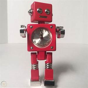 Robot Alarm Clock  U0026quot Rivet U0026quot