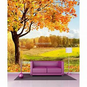 Papier Peint Geant : papier peint g ant saison l 39 automne 11099 stickers ~ Premium-room.com Idées de Décoration