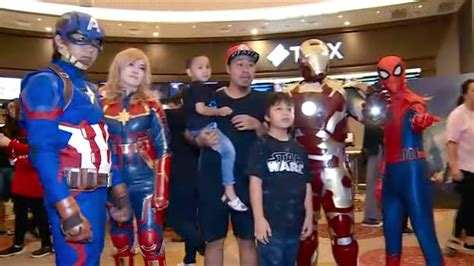 avengers endgame tayang hari  penonton serbu bioskop