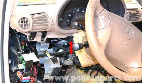 mercedes benz   driver side dash removal