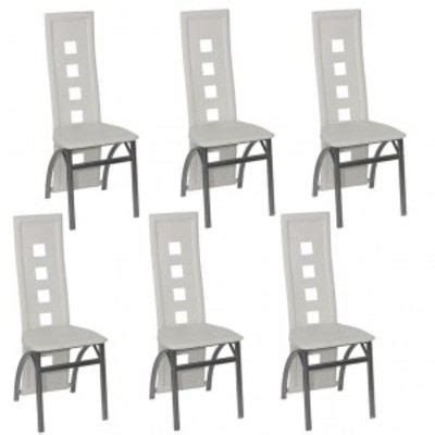 chaise pas cher par 6 chaises salle a manger moderne pas cher