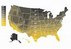 US Groundwater Temperature - Bradley Corporation