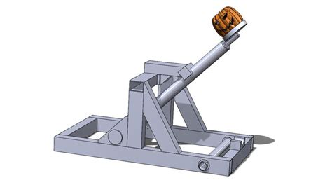 Pumpkin Chunkin Trebuchet Designs by Maximize Your Punkin Chunkin Catapult With Solidworks