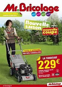 Tondeuse Electrique Mr Bricolage : calam o mr bricolage catalogue jardin 2014 8 pages ~ Melissatoandfro.com Idées de Décoration