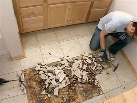 Replace Bathroom Tiles by How To Install A Tile Floor Inset How Tos Diy