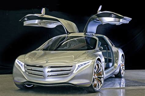 Mercedes-benz F125! Gullwing Fuel Cell Concept Leaks Ahead