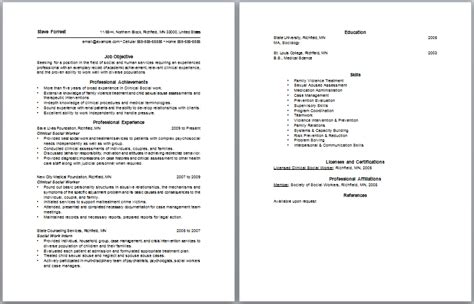 Child And Youth Worker Resume Objective Exles by Social Worker Letter And Social Work Resume Objective Statements
