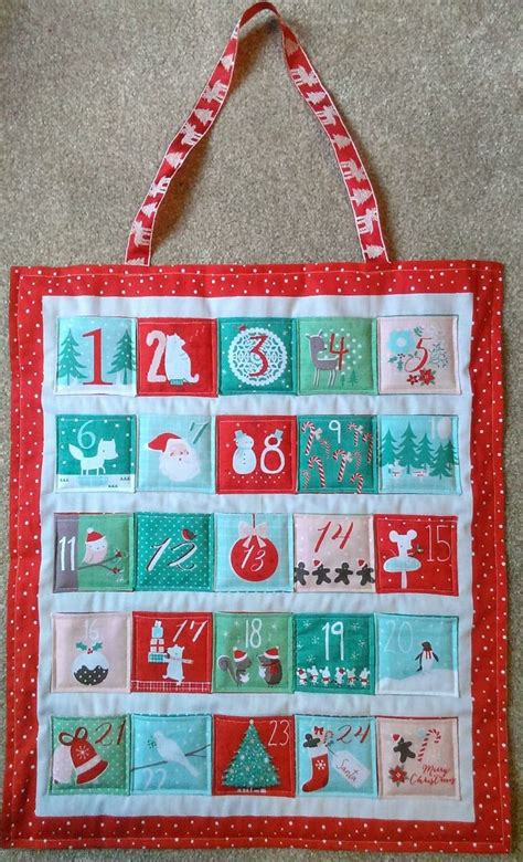 sew   advent calendar fabric craftiness advent