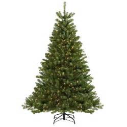 holiday living 6 5 ft seneca pine pre lit artificial christmas tree with clear lights lowe s