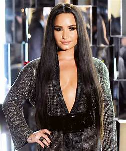 Demi Lovato's Choppy Lob Haircut InStyle com