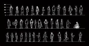 People Standing 2D DWG Block for AutoCAD • Designs CAD