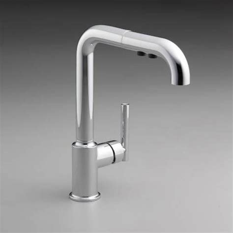 Kohler Purist Primary Pullout Kitchen Faucet by Kohler K 7505 Purist Single Handle Pullout Kitchen Faucet