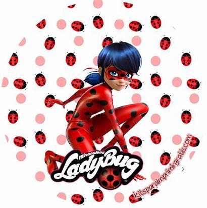 Ladybug Imprimir Gratis Kit Bug Lady Miraculous