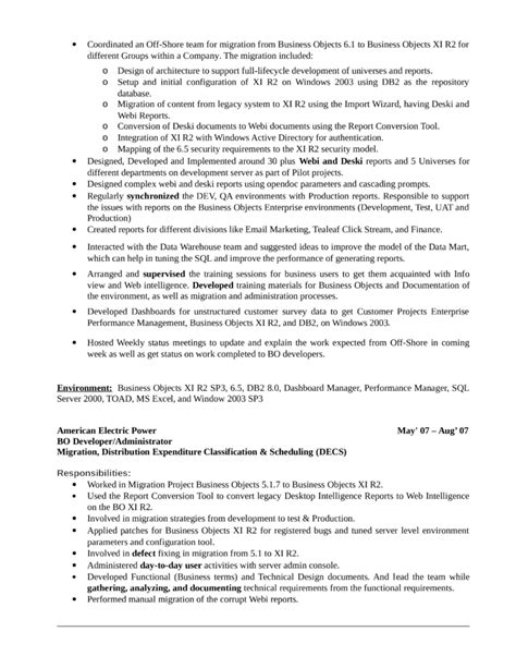 Professional Business Objects Developer Resume Template. Sample Resume Objective Statements For Customer Service. Financial Advisor Sample Resume. Professional Resumes Format. What Not To Put In A Resume