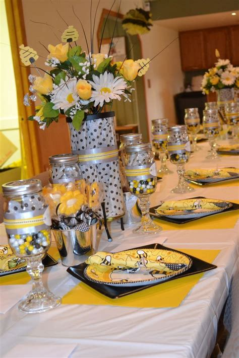 37 Best Images About Bumble Bee Baby Shower On Pinterest