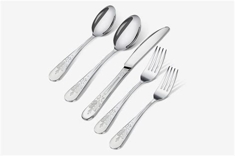 stainless steel silverware flatware sets kitchen piece utopia amazon