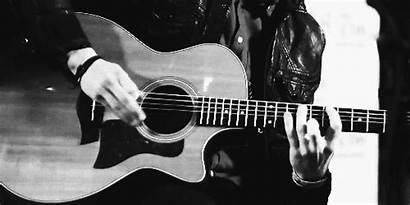 Guitar Acoustic Animated Guitars Instruments Gifs Clip