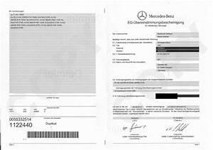 Certificat De Conformité Mercedes : eurococ ~ Gottalentnigeria.com Avis de Voitures