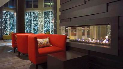 Place Cinemagraph Southdale Upscale Apartments Fireplace