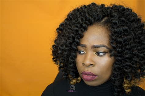 Install Knotless Crochet Braids Invisible Part