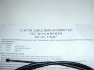 Best Fsp Part 175067  169676 Clutch Cable Replacement Kit