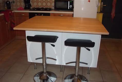 fabriquer ilot central cuisine ilot central cuisine avec table 3 fabriquer ilot