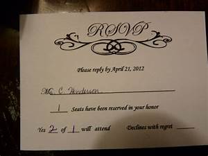 rsvp foolishness sorry for the huge pics weddingbee With wedding invitations rsvp cards what does the m mean