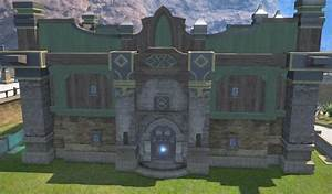 Oasis House Wall (Wood) FFXIV Housing - Exterior