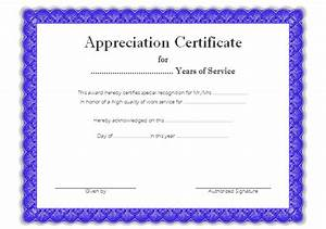 certificates of appreciation templates for word retirement certificate templates 10 official designs