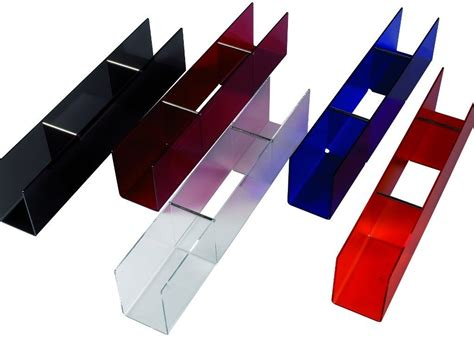 mensola in plexiglass mensola da parete in plexiglass trasparente o bianco bimensola