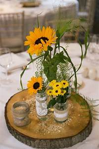 Awesome Sunflower Centerpieces For Weddings Pictures