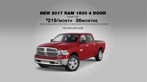Dodge Truck Month by Truck Month At Fields Chrysler Jeep Dodge Ram 2017 Ram