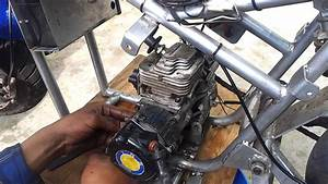 49cc Cat Eye Pocket Bike Engine Swap