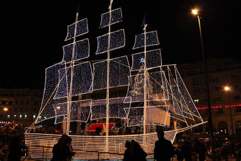 christmas decoration in greece not just trees greeks also decorate the boat living language