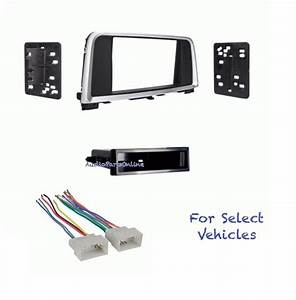 Car Stereo Radio Dash Kit Wire Harness Combo For 2016 Kia